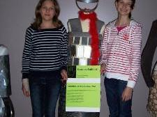 Die Hittisauer Schüler(innen) stellen am Samstag ihre originellen Werkstücke zur Schau.