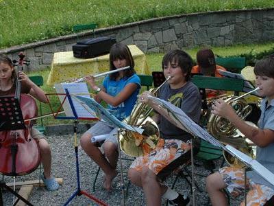 Die Nachwuchsmusiker des MV Braz hatten beim Seminar viel Spaß.