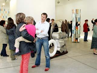 """Im Gegensatz zur """"Langen Nacht der Museen"""" richteten sich die Galerientage an Interessierte von bildender Kunst."""