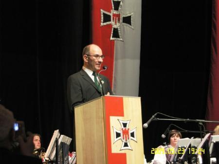 Präsident Obstlt Alwin Denz