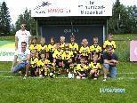 U 7 Mannschaft mit Trainer Werner, Stefan und Mario
