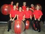 Acht Frauen der Turnerschaft Rankweil bei 1. Gym for Life in Dornbirn dabei.