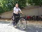 Beim Bürgerservice der Marktgemeinde kann man das Landrad ausleihen.