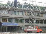 Bild: Die Bauarbeiten für eine weitere Aufstockung der PH laufen bereits auf Hochtouren.