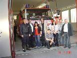 Bludenzer Stadtpolitiker zeigten sich von der Feuerwehr beeindruckt.