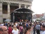 Die Bauernfänger sowie ein palästinensisches Trio stimmten das Origano-Festival ein
