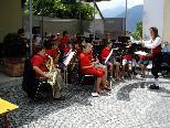 Die Jungmusik Göfis spielte ebenfalls zum Frühschoppen auf.