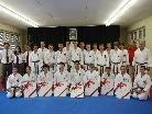 Die Prüflinge des Karateclubs Götzis