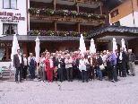 Die Übersaxner Senioren mit Bürgermeister Rainer Duelli.