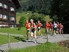 Exakt 166 Läuferinnen und Läufer starteten beim 9. Widdersteinlauf.