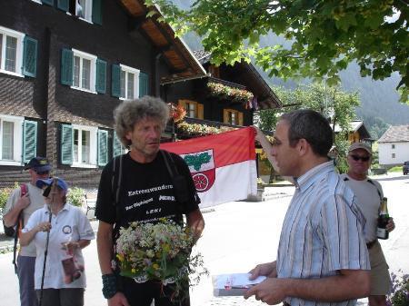 Extremwanderer Herbert Jürgen Hoffmann