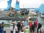 Festspielbühne als Touristenattraktion