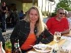 Frau Märker beim Grillfest des SKC Koblach