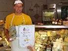 Gold für Schlinser Käse: Meistersenn Thomas Kaufmann.