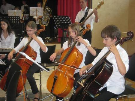 Junge Musiker beeindruckten.