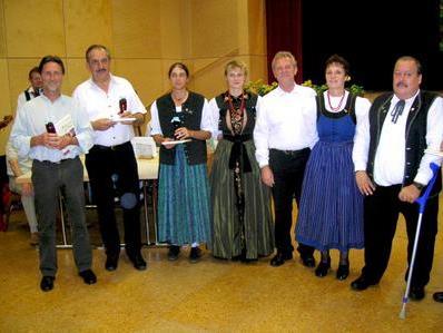 Musik und Gesang standen beim Volksmusikabend im Gemeindesaal auf dem Programm.