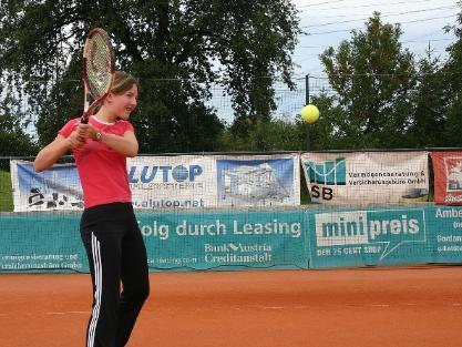 Tennisklub Rankweil sucht Nachwuchsspieler.