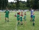 Viele begeisterte Kinder bei der Fußballcamp Premiere des FC Sulz.