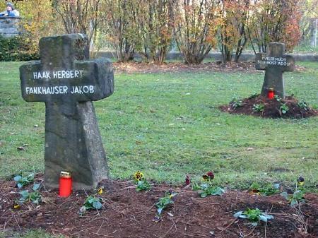 Der Soldatenfriedhof St. Wolfgang in Feldkirch-Tosters.