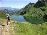 Der idyllisch gelegenen Schwarzsee