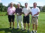 Die Trainer genossen den Golftag im Club Schloss Langenstein.