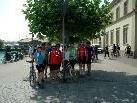 Die sportliche Seniorentruppe am Bodensee