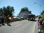 Feuerwehr Fluh bei der Vorführung