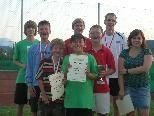 Finalisten Schüler U12/14 und Jugend
