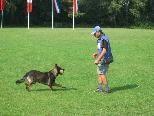 Internationale Beteiligung beim Hundeturnier