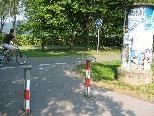 Sicherheit für Radfahrer und Fußgänger wieder gewährleistet
