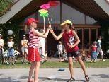 Spaß mit Jonglieren