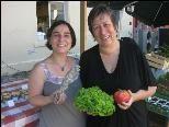 Susanne Dein-Koch und Maria Nägele - Verantwortliche des Genussmarktes