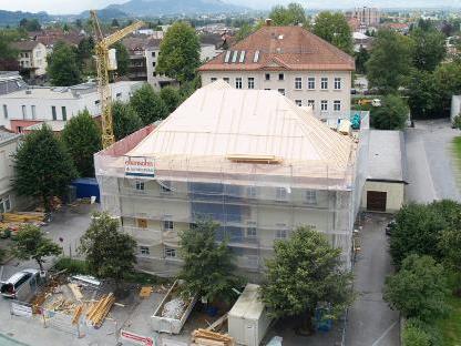 2,6 Millionen Euro fließen in die Sanierung und Aufstockung der HS Herrenried.