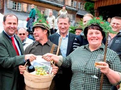 Alptag und Markt in Schwarzenberg