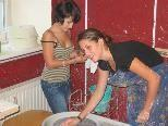 Auch Mädchen begeistern sich für handwerkliche Tätigkeiten