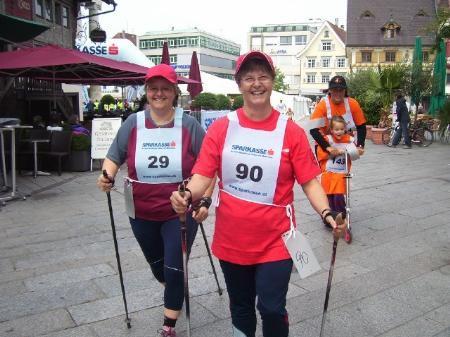 Auch der 14. Stundenlauf der Lebenshilfe lockte rund dreihundert Laufbegeisterte auf den Dornbirner Marktplatz.