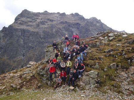 Ausflug auf den Klettersteig der Gargellner Köpfe