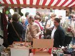 Bei Schönwetter werden morgen wieder viele zum traditionellen Herbst-Trödlermarkt pilgern