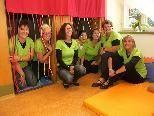 Bild: Die Betreuerinnen der Spielgruppe Zottelbär.