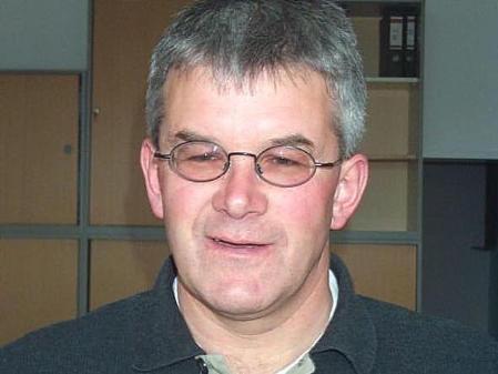 Bürgermeister Arnold Hirschbühl setzte sich für die Erneuerung des Pfarrhofes ein