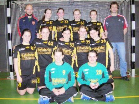 Das erfolgreiche Damenteam des Emser Handballclubs.