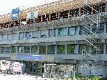 Der Rohbau für die Aufstockung des Gymi und der Pädagogischen Hochschule ist abgeschlossen.