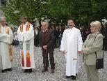 """Der """"neue"""" Pfarrer Ronald Waibel wurde in Haselstauden herzlich empfangen"""
