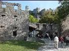 Die Burg Hohentwiel wurde im 10. Jahrhundert vom schwäbischen Herzog als Residenz samt Klosteranlage erbaut.