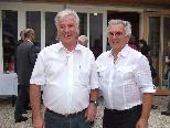 Die ?Diöpressler? Heribert Gut (re.) und Franz Josef Pühringer werden von ihren Kollegen und Kunden sehr vermisst werden.