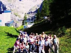Die Reisegruppe aus Andelsbuch