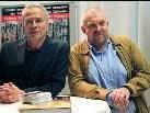 Die beiden engagierten Tatort Schauspieler Klaus J. Behrendt und Dietmar Bär waren persönlich in Frastanz anwesend