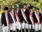 Die sechs Meister (v. l.): Leeb, Rudigier, Monz, Winkler, Mayr und Wimmer.
