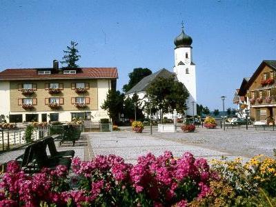 Dorfplatz in Sulzberg