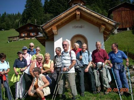 Eine schöne Herbstwanderung hatten die Senioren aus Montafon